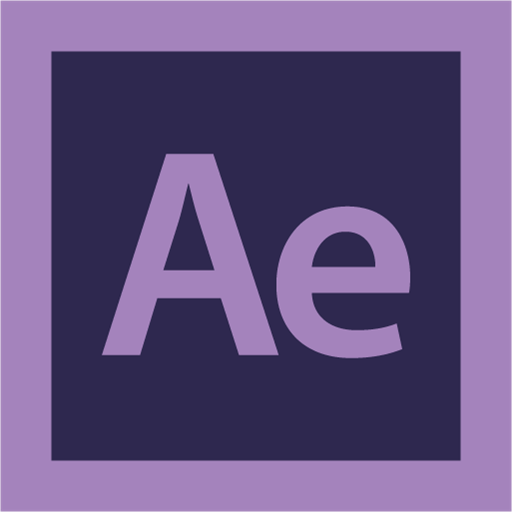 adobe, after effect, logo icon