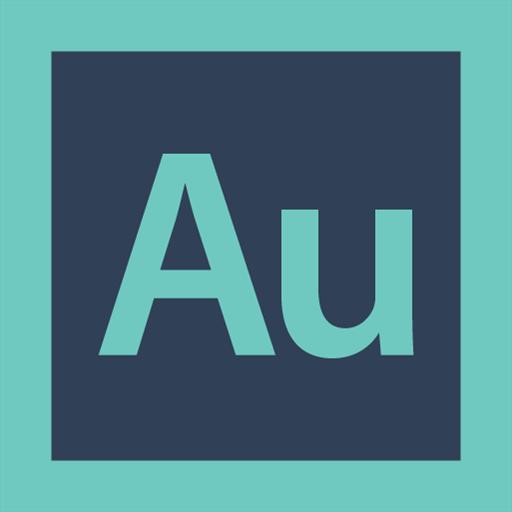 adobe, audition, logo icon