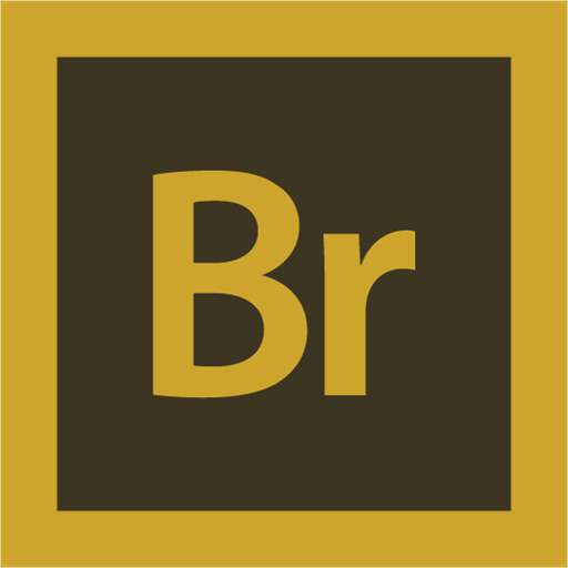 adobe, bridge, logo icon