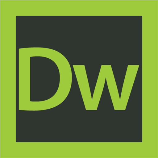 adobe, dreamweaver, logo icon