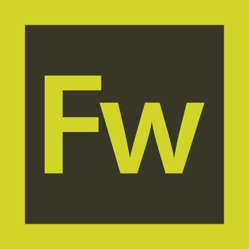 adobe, fireworks, logo icon
