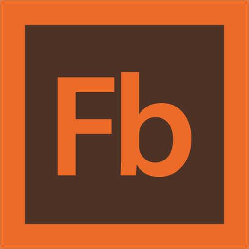 adobe, flash builder, logo icon