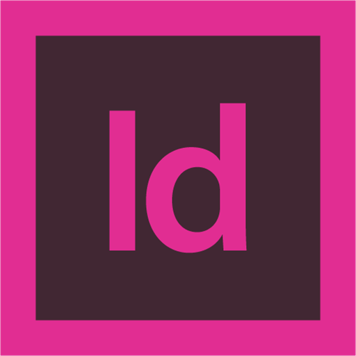 adobe, indesign, logo icon