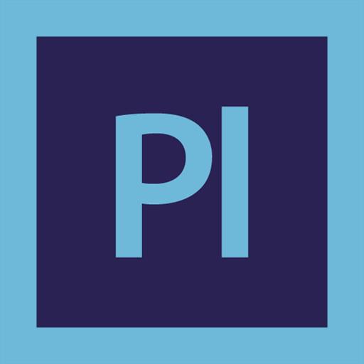 adobe, logo, prelude icon