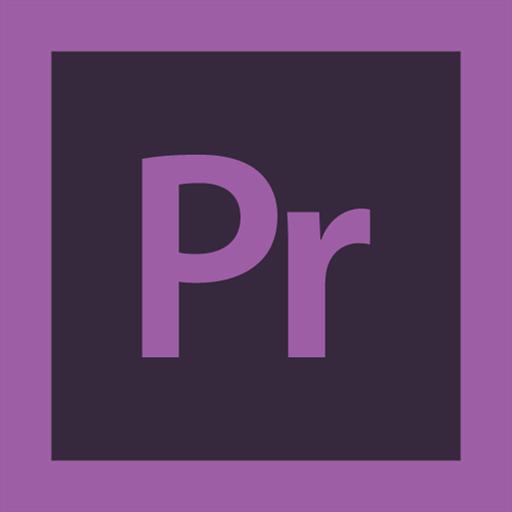adobe, logo, premiere icon