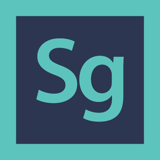 adobe, logo, speed grade icon
