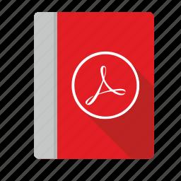 acrobat, api, ebook, file, pdf icon