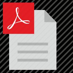 acrobat, api, article, file, list, pdf icon