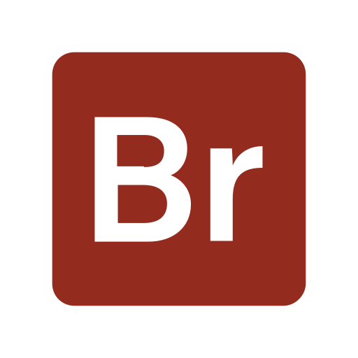 Adobe, bridge, extension, file, format icon - Free download