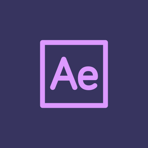 adobe, after effect, effect, video icon