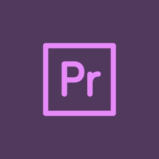 adobe, premiere, speedgrade icon