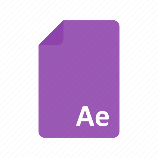 adobe, after, art, design, effects, pdf icon