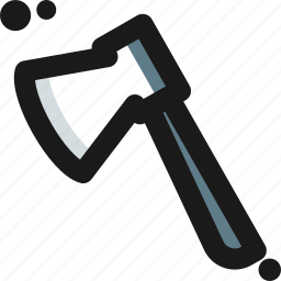 adventure, axe, chopper, cut, hatchet icon