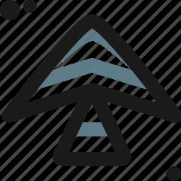 adventure, delta, direction, fliying, sport, way, wind icon