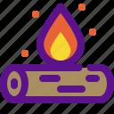 activity, extreme, firewood, sport icon