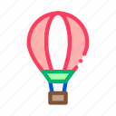 adventure, air, balloon, camping, fly, trip