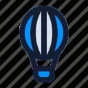 adventure, air, baloon, flight, hot, journey, recreation icon