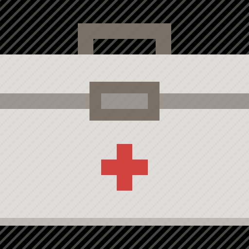 emergency, first aid kit, medical, medicine icon
