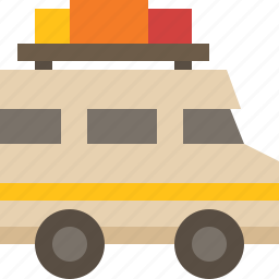 car, rv, van, vehicle icon