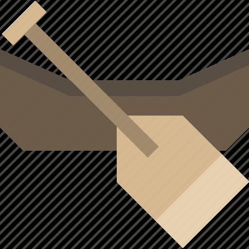 canoe, kayak, raft, rafting icon