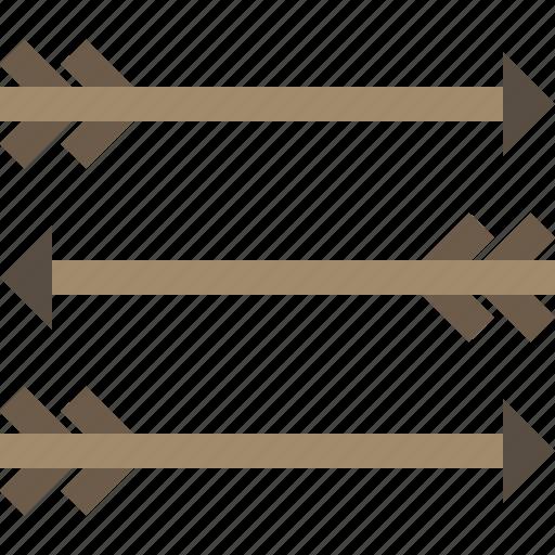 arrow, dart, hunting, weapon icon