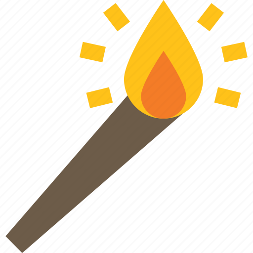 fire, flame, lighting, torch icon
