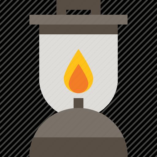 fire, lamp, lantern, petromax icon