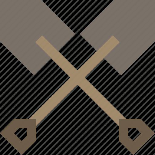 digger, shovel, spade, treasure icon