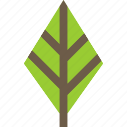 feather, leaf, nature, tree icon