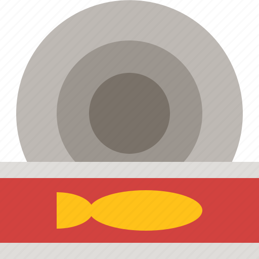 canned, food, instant, sardines icon