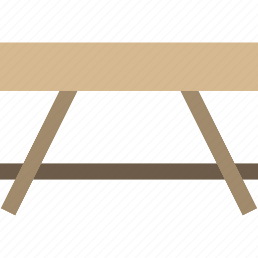 furniture, outdoor, table, wooden icon