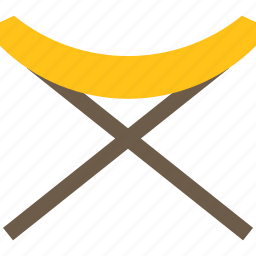camping, chair, furniture, outdoor icon