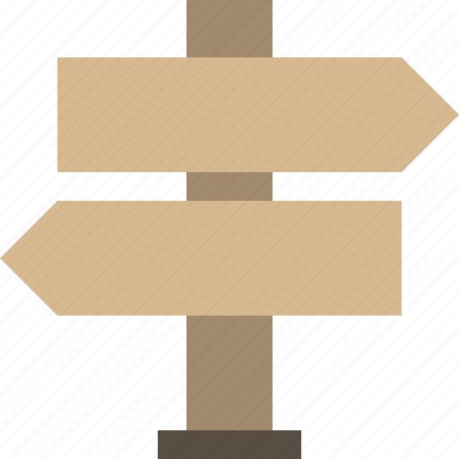 fingerpost, guidepost, sign, wood icon