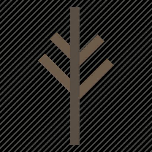 branch, plant, stem, tree icon