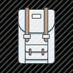 backpack, hiking, hiking backpack, pack icon