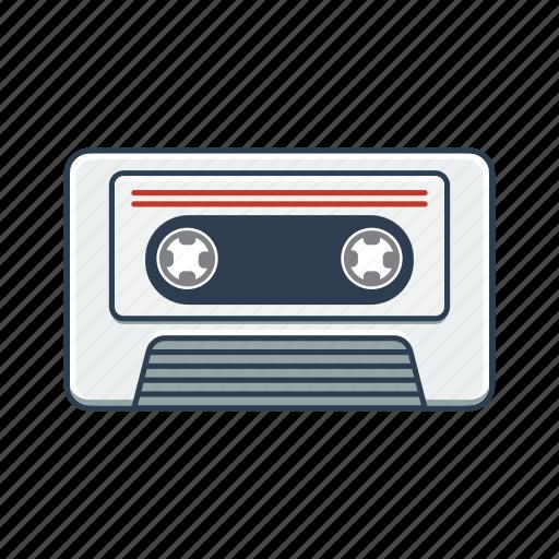 casette, music, musicassette icon
