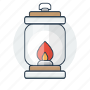 lantern, light, torch icon