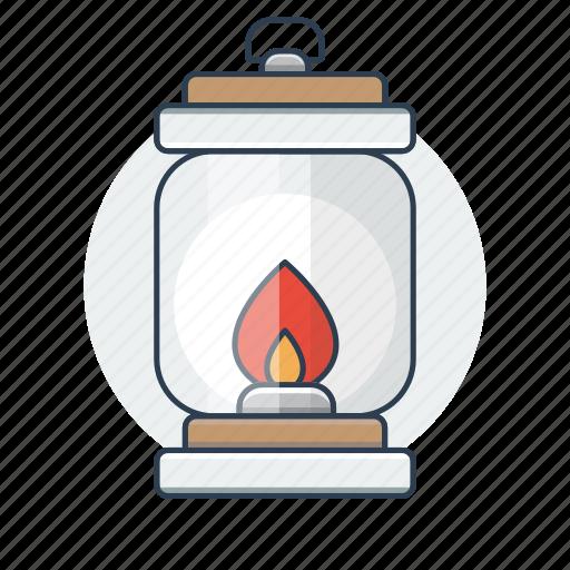 lantern, light, torch icon