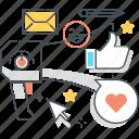 advertisement, advertising, marketing, megaphone, promotion, technology icon