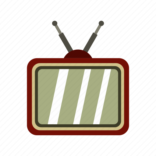 ad, display, electronic, screen, technology, television, tv icon