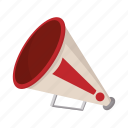 advertisement, cartoon, communication, loudspeaker, megaphone, mouthpiece, promotion icon