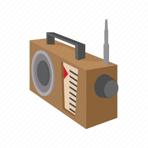 advertisement, announce, broadcast, cartoon, promotion, radio, receiver icon