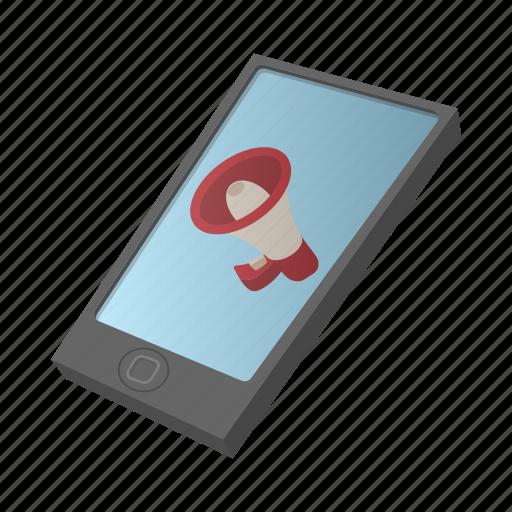 advertising, cartoon, gadget, internet, pad, screen, smartphone icon