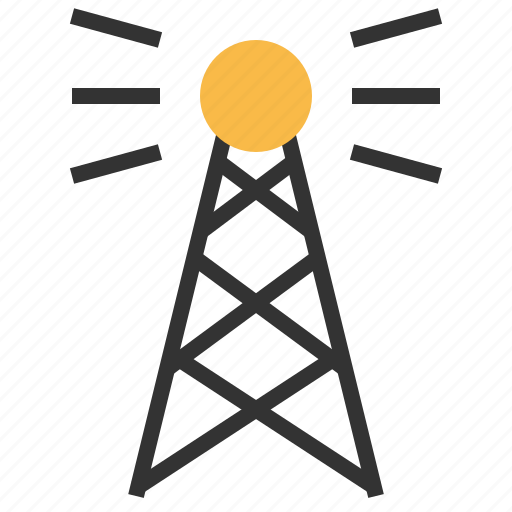broadcast, communication, connection, network, social, technology icon