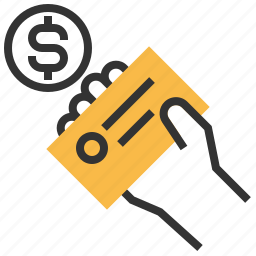 business, buy, card, cash, dollar, payment, shopping icon
