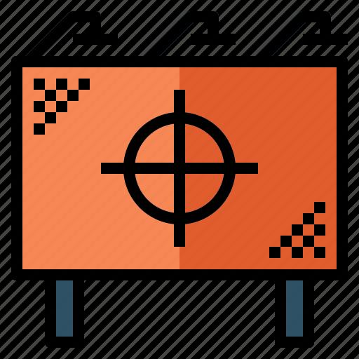 advertisement, advertising, banner, billboard, poster icon