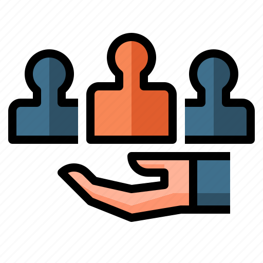 business, customer, people, service, support icon
