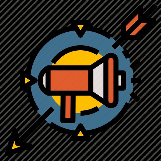 group, marketing, people, target, team icon
