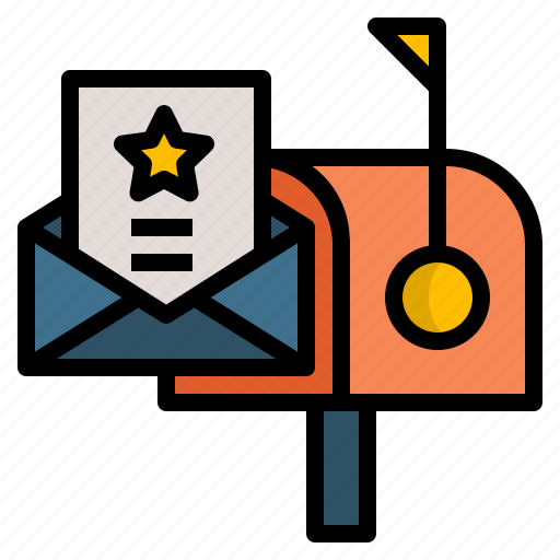 Communication, message, email, letter, mail icon