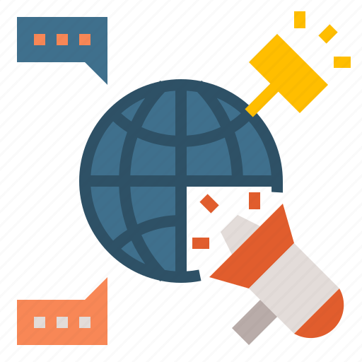 business, global, grobal, marketing, media icon